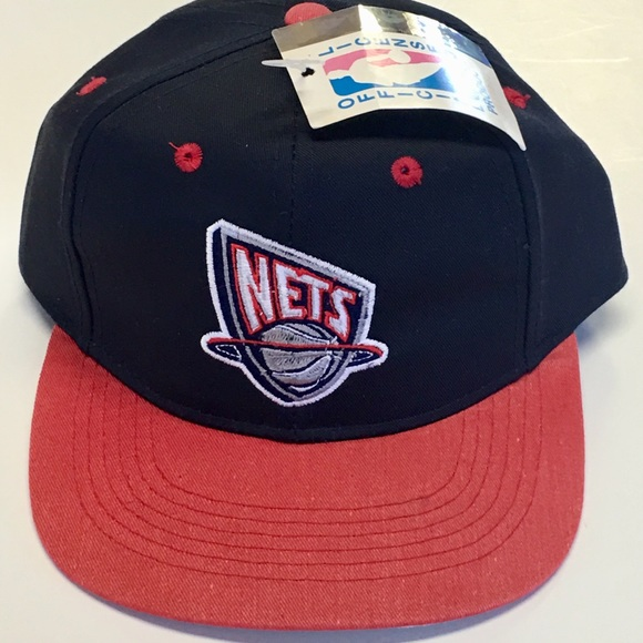 9bad309a195 Drew Pearson Other - NBA New Jersey Nets Youth Vintage SnapBack Cap Hat